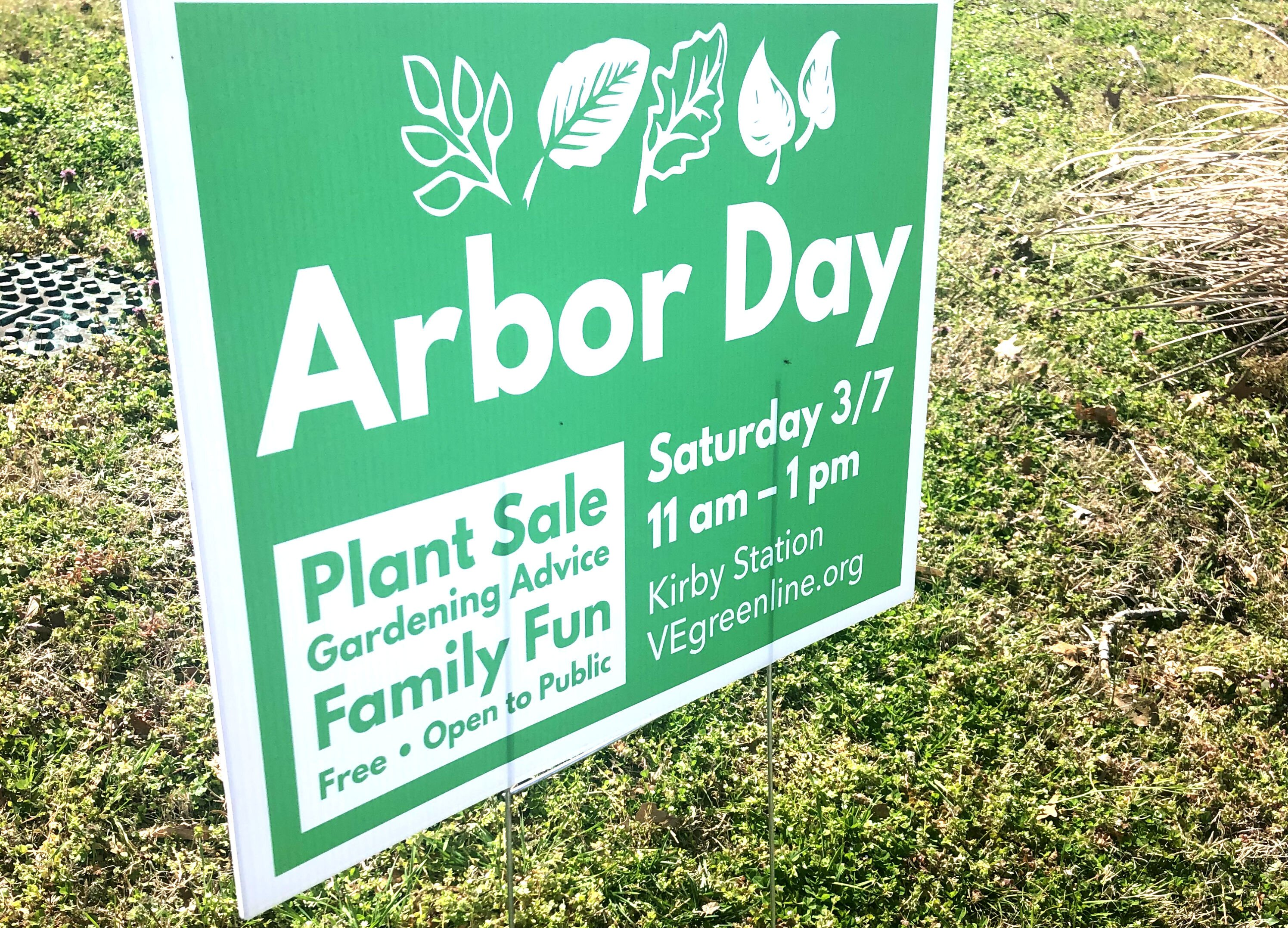 Arbor Day is a national holiday that encourages people to plant trees.This year's Arbor Day Celebration was a first for the V&E Greenline. (Ashley Davis)