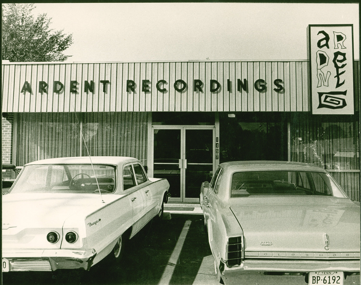 Ardent recordings opened in 1966 at the intersection of National and Bayliss, catty corner from the Sweden Kream that still stands today.