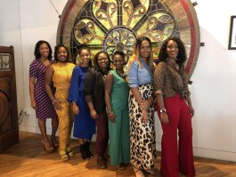 Auntie Round Table panelists ranged in age, careers and experience. The women discussed everything from mental health and child birth to the challenges facing female veterans and entrepreneurs. (Erica Horton)