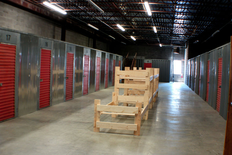 The men of Memphis Adult Teen Challenge renovated the second floor of the BAM Thrift Store and built roughly 20 climate-controlled storage units that serve residents in Madison Heights. (Cole Bradley)