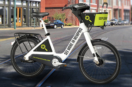 Explore Bike Share will introduce the industry's first and largest BCycle Dash system to Memphis by the spring of 2018, with 60 stations and 600 bikes with a planned 30-station and 300-bike expansion in 2019.