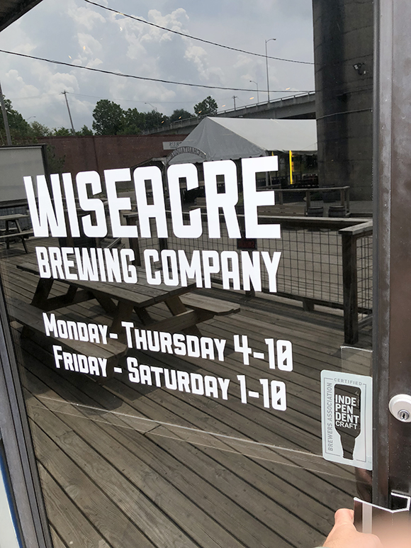 By distinguishing these smaller labels from their larger competitors, brewers like Wiseacre are protecting the integrity of the product.