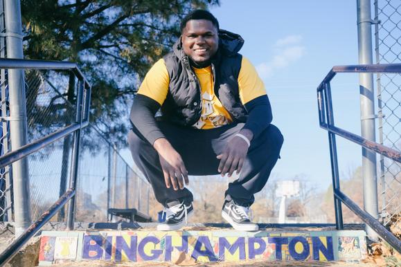 Xavier Winston wants to model Binghampton as a place that fosters entrepreneurs. (Brandon Dahlberg)