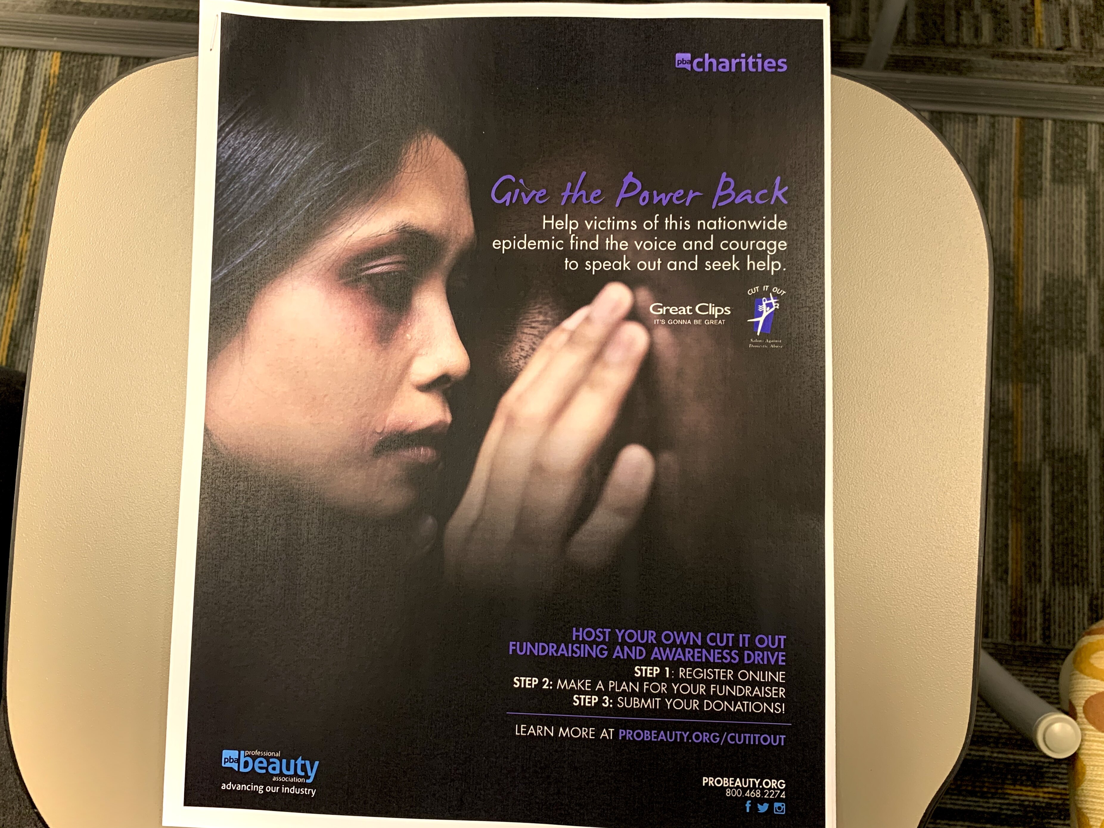 The Shelby County Crime Victims and Rape Crisis Center is using training materials from the national CUT IT OUT program to train Mid-South beauty industry professionals to identify signs of domestic violence among clients. (Memphis CUT IT OUT).
