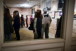 An exhibit at 600 Monroe Ave. is the first in an exhibition series among rotating galleries in the Edge district.