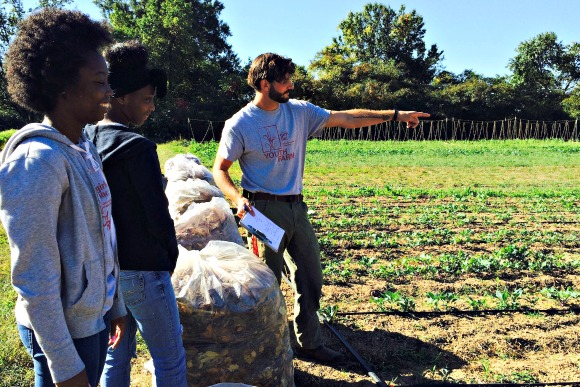 Girls Inc. Frayser Youth Farm Manager Miles Tamboli