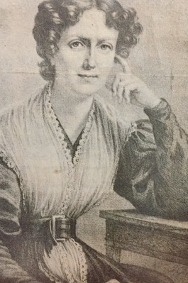 Francis Wright, c. 1825, the year she founded the Nashoba Community.