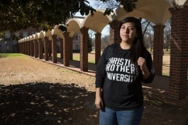 "Hola CBU helped me make relationships and make my way around school. It's just a great support group,"" said Gabriella Molina"