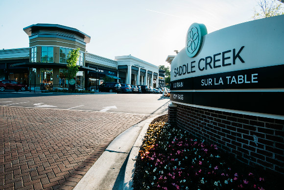 Saddle Creek shopping center in the Central Business District of Germantown, TN.