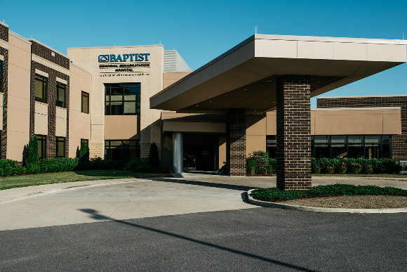Baptist Rehab Hospital in the Wolf River District of Germantown, TN.