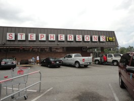 The Stepherson's store at 3942 Macon Road opened in 1960. (Tamara Williamson)
