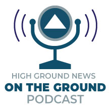 High Ground News Podcast Logo