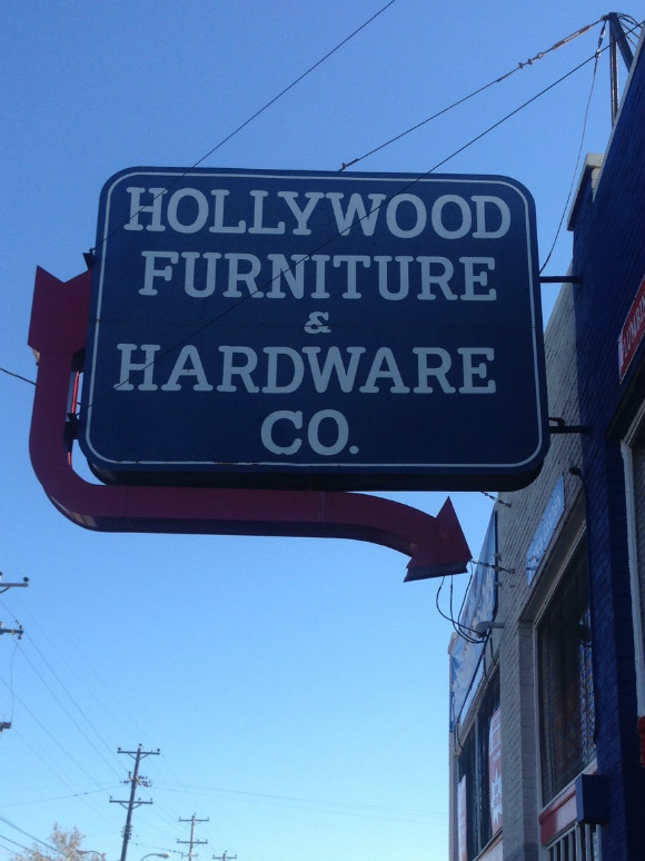 Hollywood Furniture and Hardware Co. has been on the same corner and stayed in the same family since 1924.