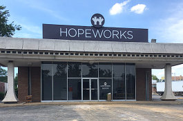 HopeWorks will be moving into the neighborhood in September.  They are in the process of renovating the former Southern Security Federal Credit Union on Summer Avenue to equip it for classroom instruction for the Personal and Career Development and a