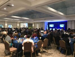 The 2019 State of Memphis Housing Summit was held at the Memphis Botanic Gardens on October 29. It was attended by roughly 200 government officials, community leaders, business leaders and nonprofit representatives. (Cole Bradley)
