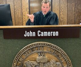 Community Court Referees John Cameron mediates cases involving common code violations. Community Courts are hosted in Hickory Hill and other communities, which helps residents avoid going Downtown for Environmental Court. (Lisa Harris)