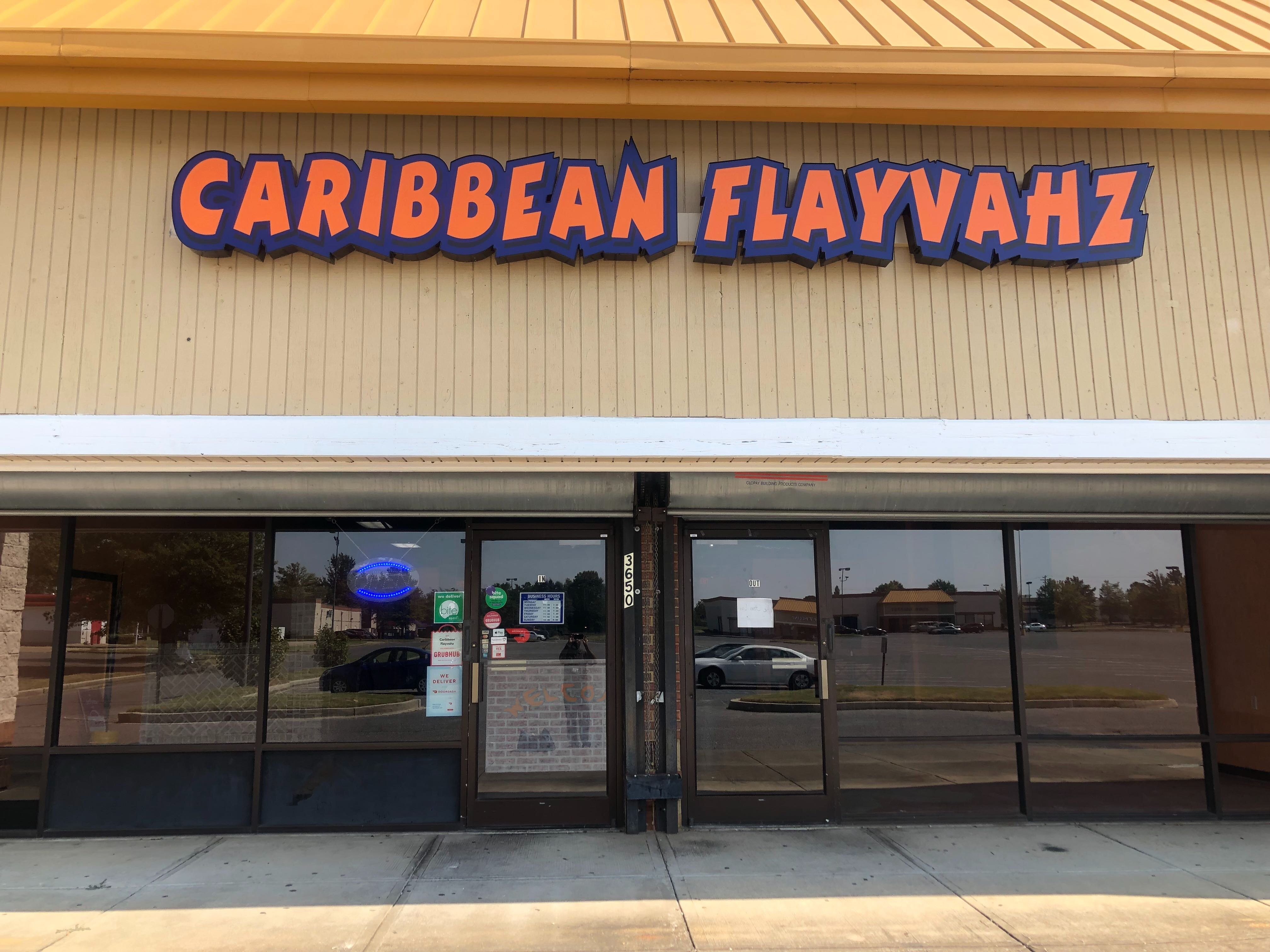 Caribbean Flayvahz is located at 3650 Ridgeway Road in Hickory Hill.