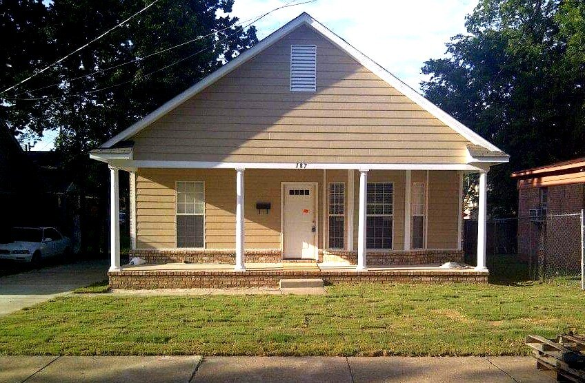 Promise CDC has built 30 houses in North Memphis, most of them three- and four-bedroom single family homes. The homes are for rent and purchase at affordable prices. (Promise CDC)