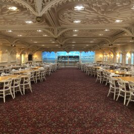 The Belle Venue's main hall can hold between 200 and 250 people. Countless proms, weddings, family reunions and other special occasions have been held at the venue since it opened in 1972. (A.J. Dugger III)