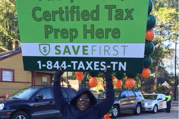 SaveFirst aims to reduce the amount of people that fall prey to predatory tax services, which often overcharge low-income families upwards of $400 for simple returns.