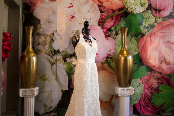Wedding florals are a major customer for Premier Flowers, as interior decor at the shop indicates. (Renier Otto)