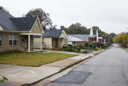 Approximately 32 percent of homes in Orange Mound are vacant according to data from the US Census.