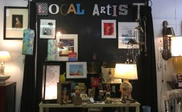 Local artists and their works have found a place in Market on Madison. (Kim Coleman)