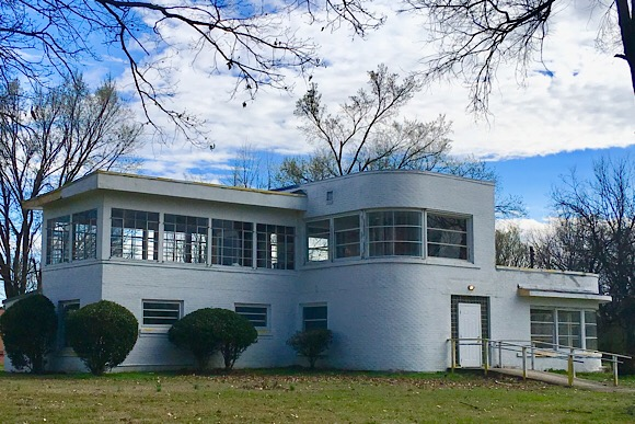 Frayser Bauhaus, built in 1946.