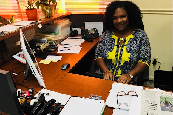 Tiana Pyles became the new executive director of the Orange Mound Development Corporation in July and has goals to increase awareness about Orange Mound through two large scale festivals within the next two years.