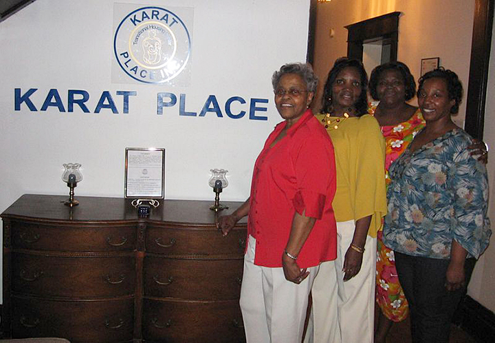 Karat Place is a residential rehabilitation program for homeless women ex-offenders and their children. The facility benefits from a grant from the Women's Foundation for a Greater Memphis. (Submitted)