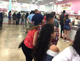 Don't be intimidated by the long lines at La Michoacana's Summer Avenue location. They move quickly and the reward is worth the wait. (Josh McLane, La Michoacana)