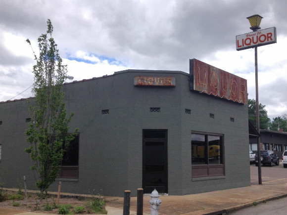 "In step with Broad Avenue's transformation, a former liquor store is being converted into a ""playful"" diner"