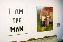 An I Am A Man inspired work at the UAC's 20th anniversary celebration.