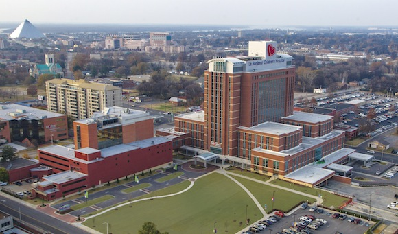 University of Tennessee Health Science Center, Le Bonheur Children's Hospital and St. Jude Children's Research Hospital are four of the anchor institutions partnering with the Memphis Medical District Collaborative for Hire Local 901. (Submitted)