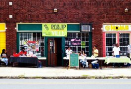 MEMShop helped launch new brick and mortar small businesses in South Memphis in 2014, including the Klassy Chics boutique and @ Home Computer Repair. (MEMShop)