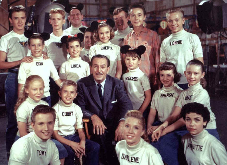 Ric Morgan (back row, second from left) performed in The Mickey Mouse Club  ensemble cast from 1955 to 1957 alongside breakout stars like Annette Funicello and Cubby O'Brien. (IMBD.com)