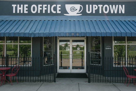 Valerie Peavy her husband Jeff Peavy own The Office @ Uptown. It opened in 2013 and is their first restaurant venture. (Brandon Dahlberg)
