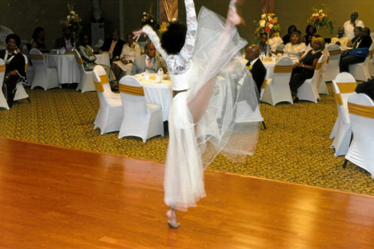 A dancer performs at the Orange Mound Progressive Club's centennial celebration in September 2019. (Submitted, Tyrone P. Easley)