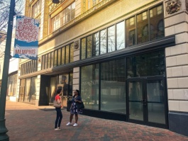 The now vacant spots at 7 and 9 N. Main will be activated with a host of pop-up shops through December.