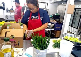 OtherFoods Kitchen is located at 1249 Heistan Place and serves as a space for food-based startups to kickoff. (Ramona Springfield)