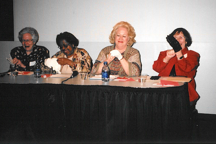 Memphis panelists recreate their iconic white glove look.