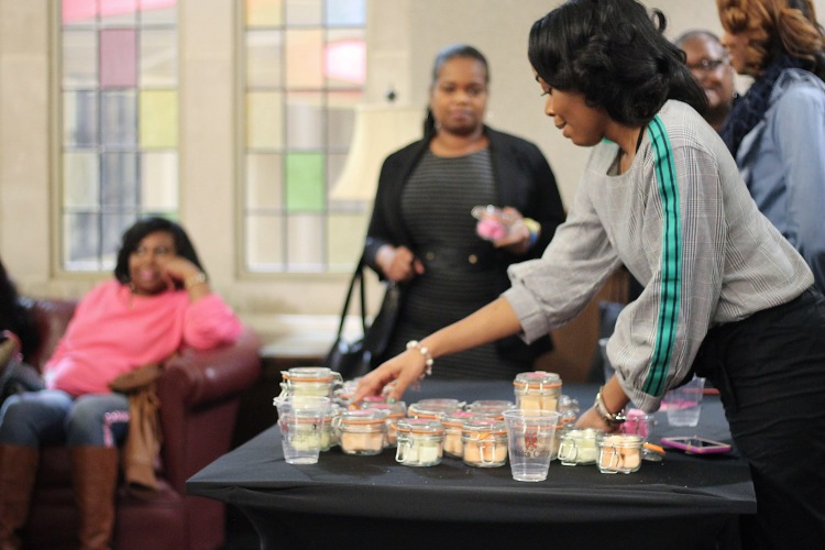 Tatyana Muhammed sold enough of her sugar scrub product to surpass start-up costs for the last 4 months. (Submitted)