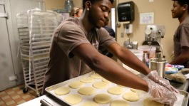 Almost 30 at risk youth have been employed with Sweet LaLa's Bakery since it opened in 2014.