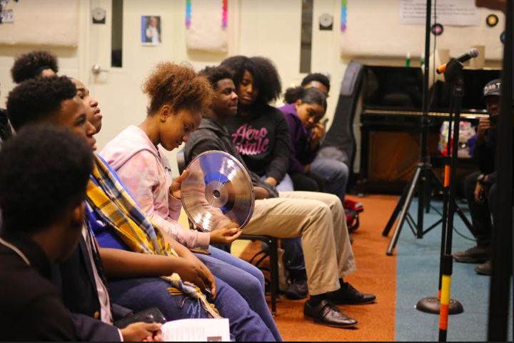 More than 50 middle and high school students engaged with local music industry experts and learned about everything from production to publicity to how vinyl records are made at a January 18 event held at Stax Music Academy. (Submitted)