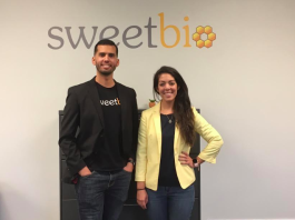Dr. Isaac Rodriguez, chief science officer and co-founder of SweetBio and Kayla Rodriguez-Graff, co-founder and SweetBio CEO.