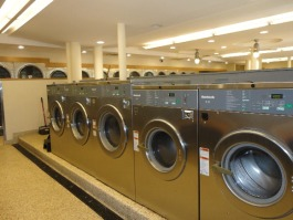 Dryers and washing machines can be used at a reduced rate at the South Memphis Alliance laundromat. (Tamara Williamson)