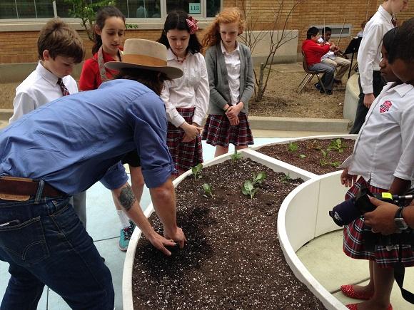 The Kitchen Community Breaks Ground On Its School Garden Network
