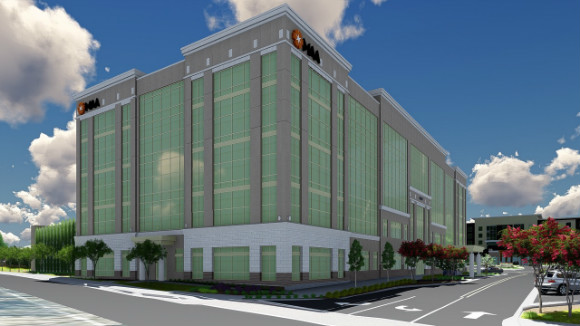 A rendering of the future MAA headquarters at TraVure.