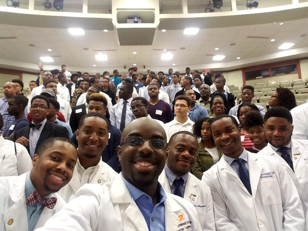 "Baptist Memorial Health Care along with several partners recently hosted a ""Black Men in White Coats"" youth summit designed to help pave the way for minority students to pursue a career in medicine."