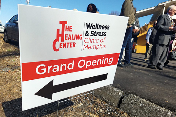 Located on the campus of The Healing Center Baptist Church at 3885 Tchulahoma Road, the Wellness & Stress Clinic of Memphis stems from a unique partnership that includes the church and volunteer support from area professionals.